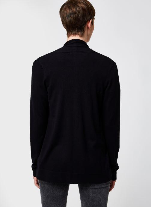 Kleding Monoprix Femme Cardigan manches longues Zwart model