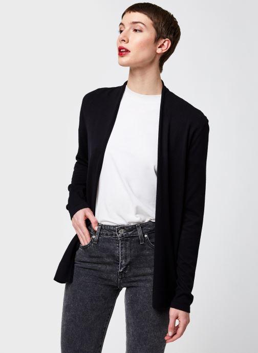 Kleding Monoprix Femme Cardigan manches longues Zwart detail
