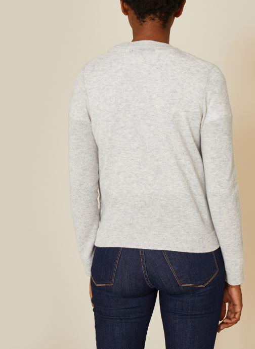 Kleding Monoprix Femme Cardigan laine et cachemire Grijs model