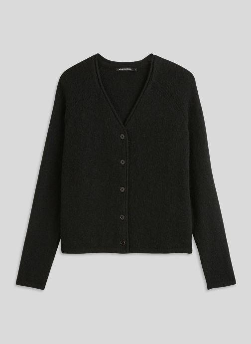 Vêtements Monoprix Femme Gilet en alpaga Noir vue face