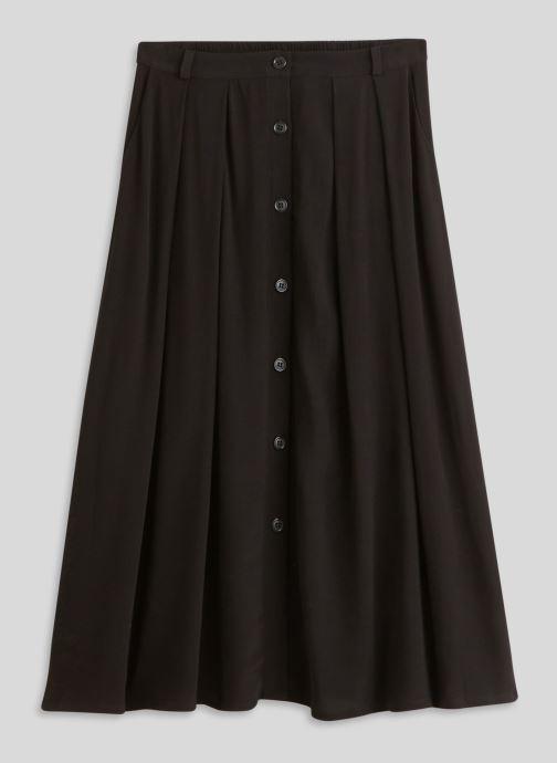 Vêtements Monoprix Femme Jupe midi Noir vue face