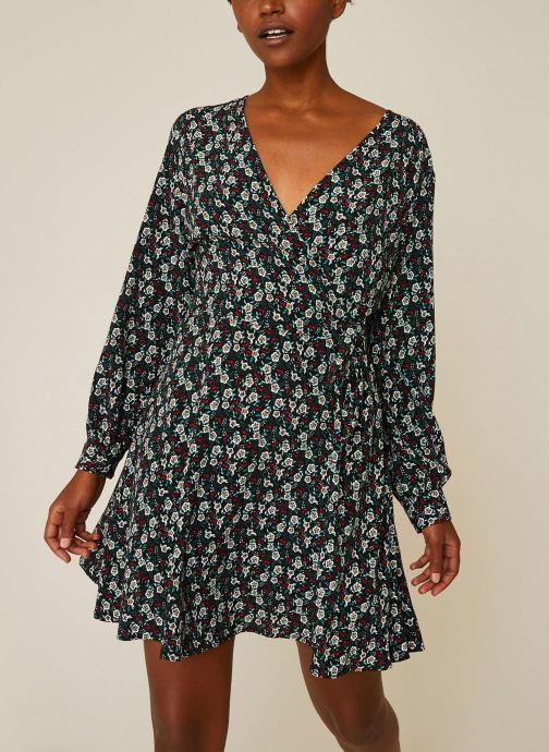 Vêtements Accessoires Robe courte cache-coeur imprimé floral