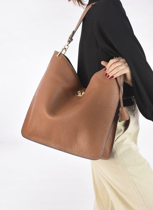 Handtaschen Mac Douglas Kentucky M Romy braun ansicht von unten / tasche getragen