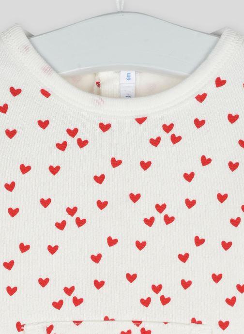 Vêtements Bout'Chou Dors bien imprimé étoiles en coton BIO Beige vue face