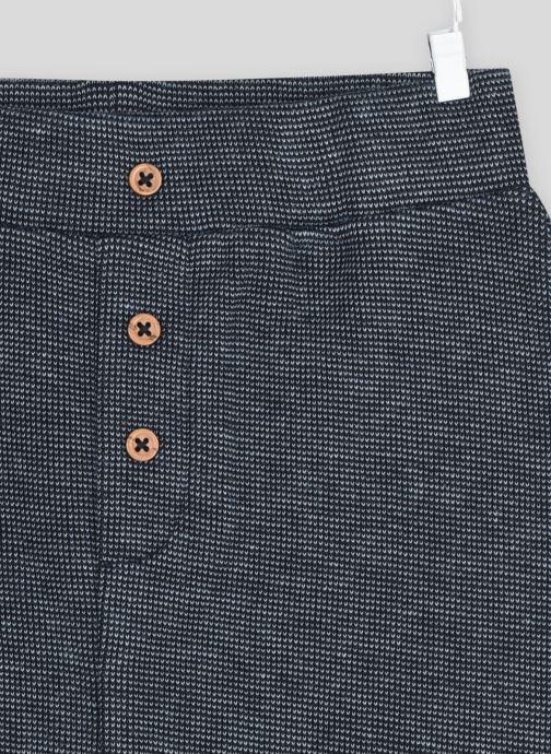 Vêtements Bout'Chou Sarouel en coton BIO Bleu vue face