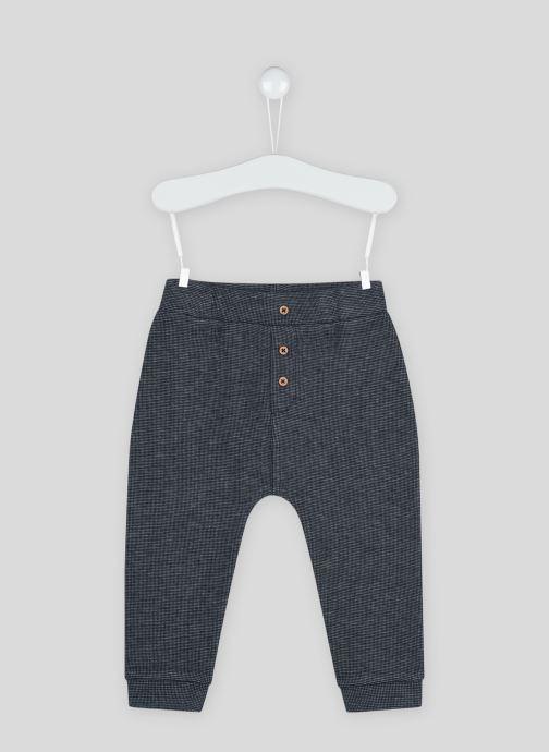 Vêtements Bout'Chou Sarouel en coton BIO Bleu vue détail/paire