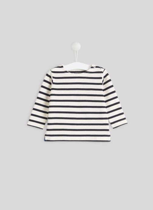 T-shirt manches longues - Marinière en coton BIO
