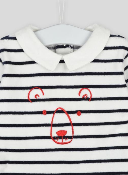 Vêtements Bout'Chou Pyjama imprimé contenant du coton BIO Beige vue face