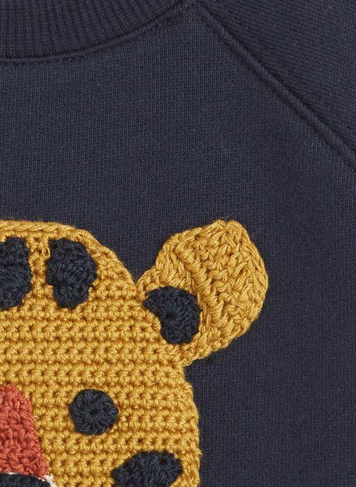 Vêtements Bout'Chou Sweat en tricot Bleu vue face