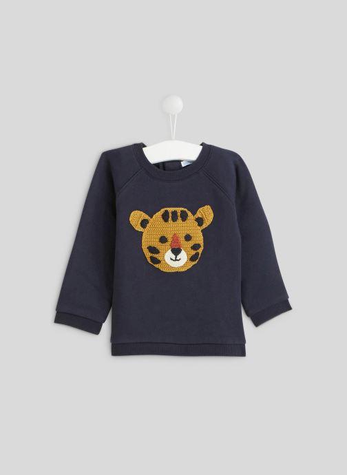 Vêtements Bout'Chou Sweat en tricot Bleu vue détail/paire