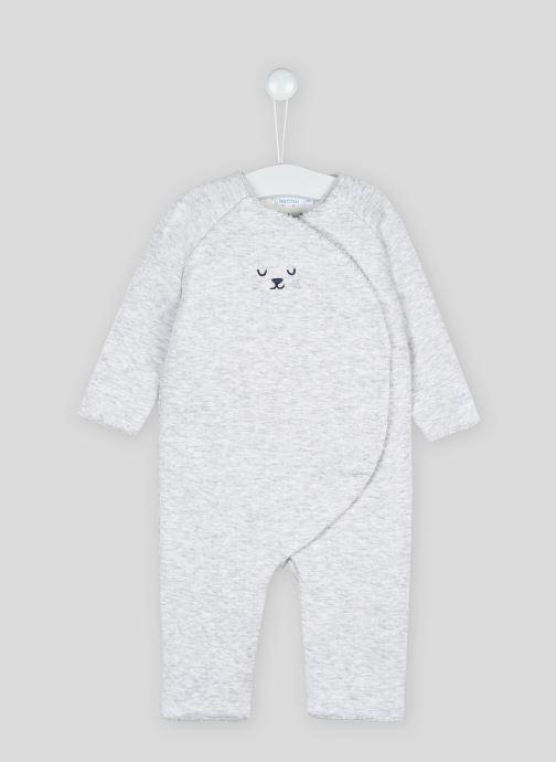 Vêtements Bout'Chou Combinaison avec broderie Gris vue détail/paire
