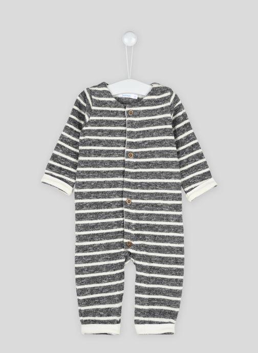 Vêtements Bout'Chou Combinaison rayée Gris vue détail/paire