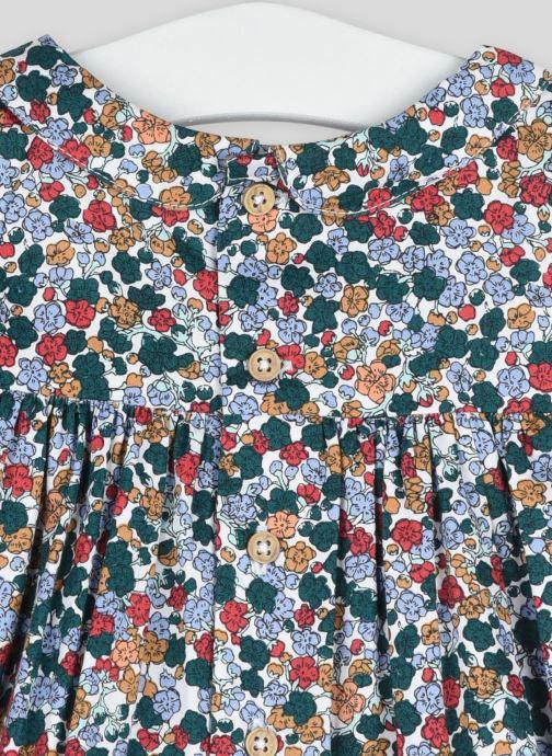 Vêtements Bout'Chou Blouse imprimé fleurs Vert vue face