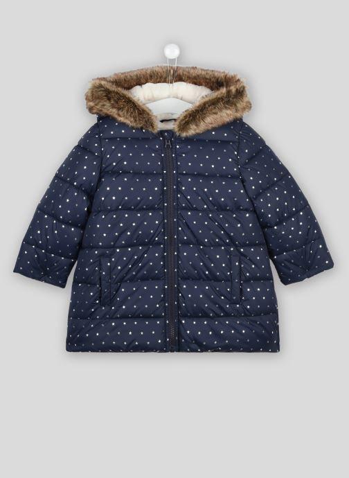 Vêtements Bout'Chou Doudoune chaude Bleu vue détail/paire