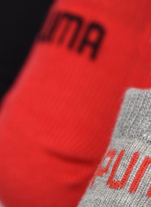 Calze e collant Puma Socks UNISEX SNEAKER PLAIN Rosso modello indossato