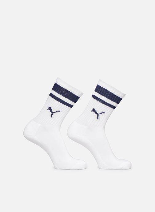 Calze e collant Puma Socks CREW HERITAGE STRIPE UNISEX Bianco vedi dettaglio/paio