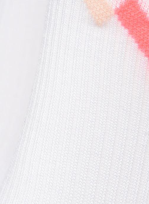 Calze e collant Puma Socks WOMEN SEASONAL SOCK Bianco modello indossato