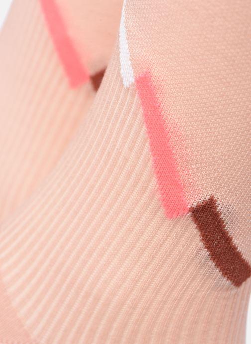 Chaussettes et collants Puma Socks WOMEN SEASONAL SOCK Rose vue portées chaussures