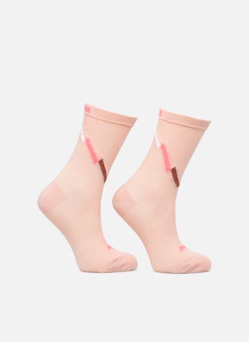 Chaussettes et collants Puma Socks WOMEN SEASONAL SOCK Rose vue détail/paire