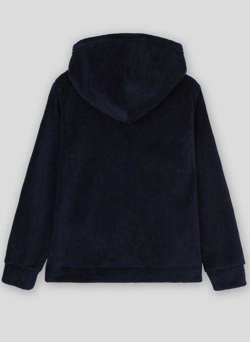Vêtements Monoprix Kids Veste à zip Bleu vue portées chaussures
