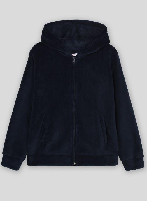 Vêtements Monoprix Kids Veste à zip Bleu vue détail/paire