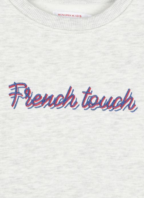 Vêtements Monoprix Kids Sweat imprimé French touch Gris vue face