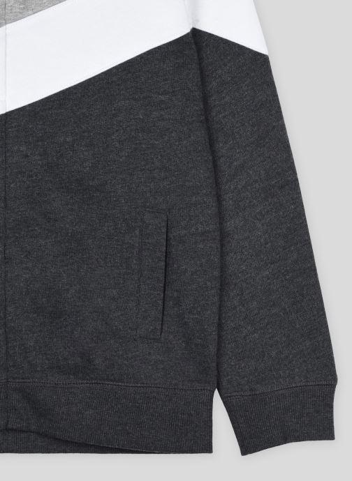 Vêtements Monoprix Kids Sweat zippé à capuche en coton BIO Gris vue face