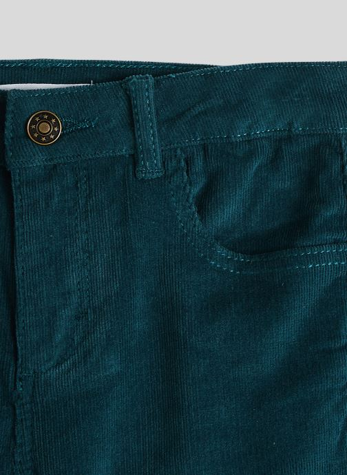 Vêtements Monoprix Kids Pantalon en velours Bleu vue face