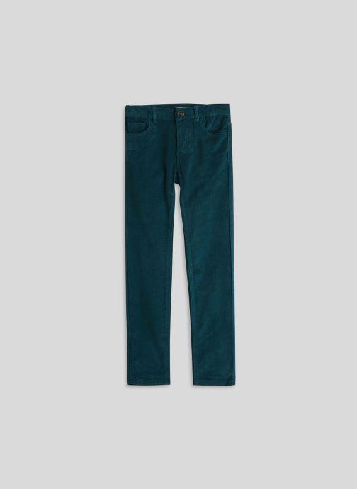 Kleding Monoprix Kids Pantalon en velours Blauw detail