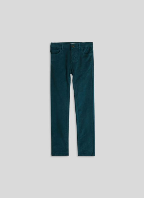 Ropa Monoprix Kids Pantalon en velours Azul vista de detalle / par