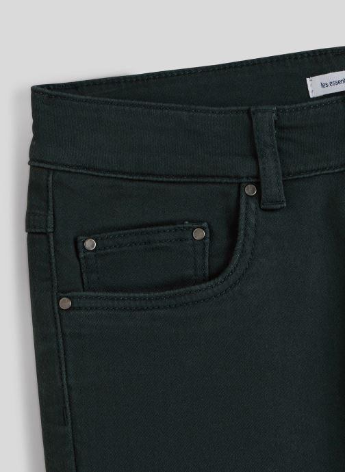Vêtements Monoprix Kids Pantalon slim maille en coton BIO Vert vue face