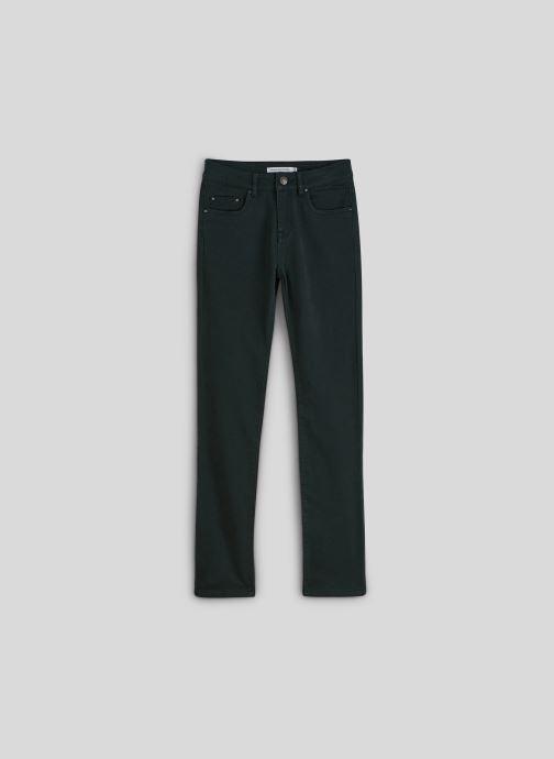 Vêtements Monoprix Kids Pantalon slim maille en coton BIO Vert vue détail/paire