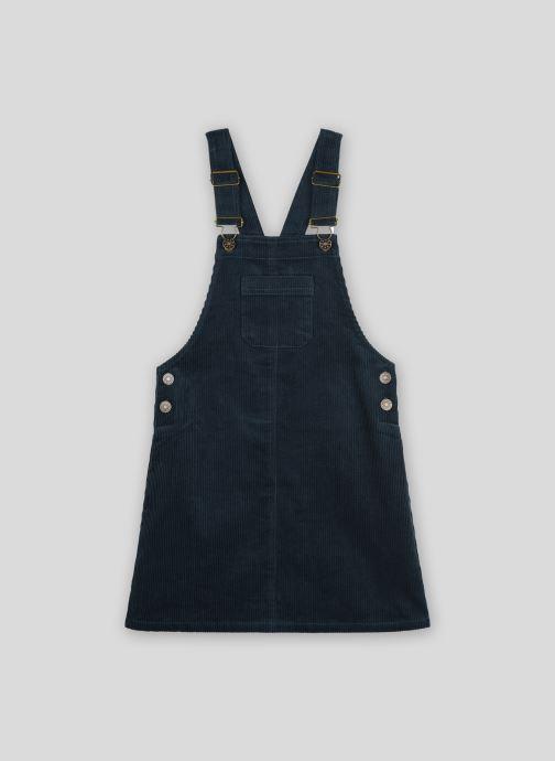 Vêtements Monoprix Kids Robe salopette en velours Vert vue détail/paire