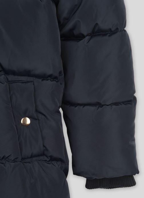 Vêtements Monoprix Kids Doudoune chaude fausse fourrure Bleu vue face