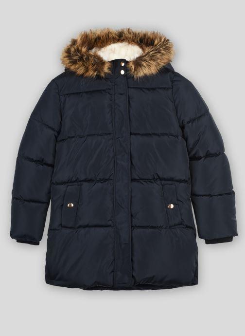 Vêtements Monoprix Kids Doudoune chaude fausse fourrure Bleu vue détail/paire