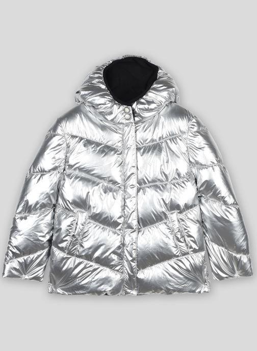 Vêtements Monoprix Kids Doudoune à capuche argentée Gris vue détail/paire