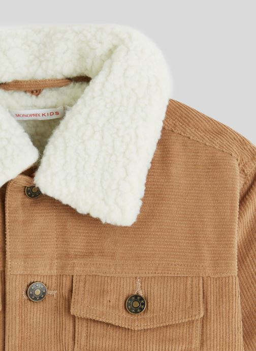 Vêtements Monoprix Kids Veste Marron vue face
