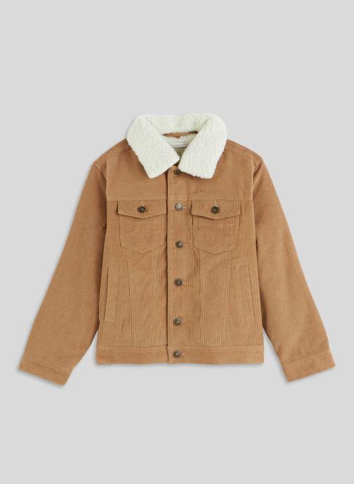 Vêtements Monoprix Kids Veste Marron vue détail/paire