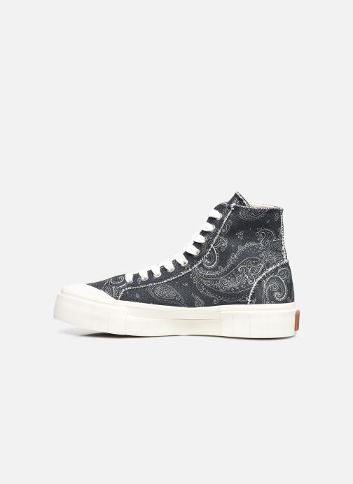 Sneaker Good News Palm Paisley schwarz ansicht von vorne