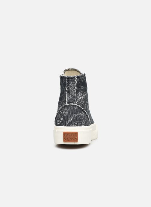 Sneaker Good News Palm Paisley schwarz ansicht von rechts
