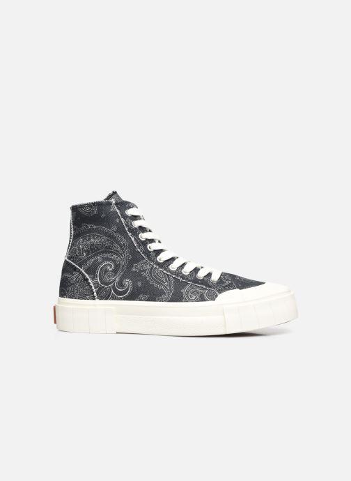 Sneaker Good News Palm Paisley schwarz ansicht von hinten