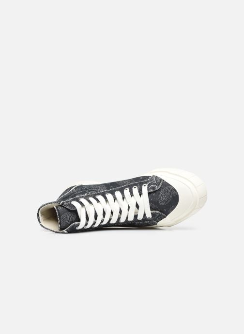 Sneaker Good News Palm Paisley schwarz ansicht von links