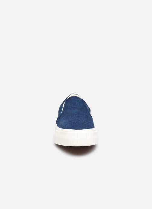 Sneaker Good News Yess blau schuhe getragen