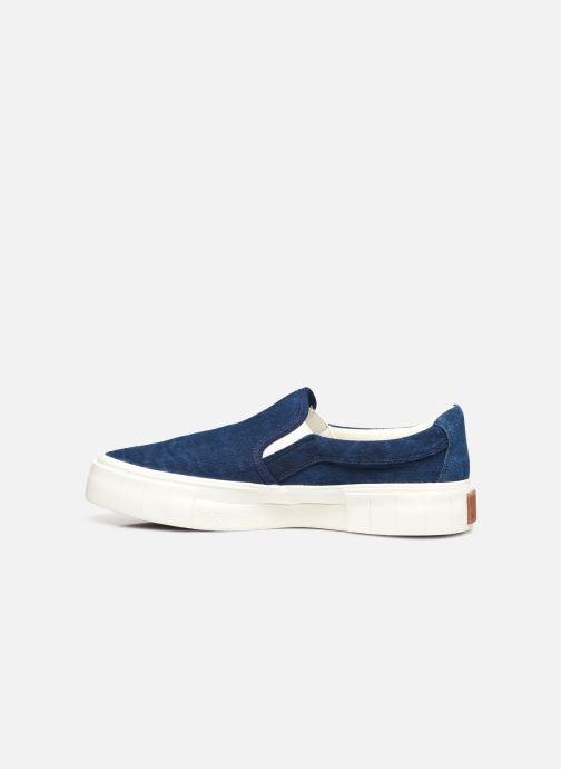 Sneaker Good News Yess blau ansicht von vorne