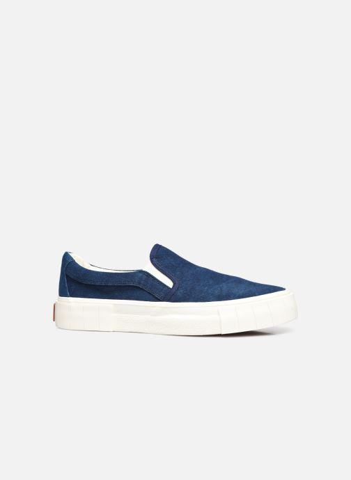 Sneaker Good News Yess blau ansicht von hinten