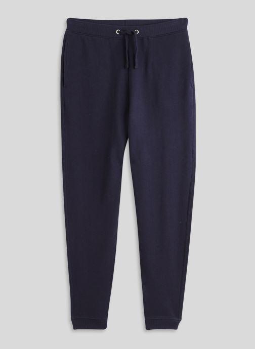 Vêtements Monoprix Homme Jogging en coton BIO Bleu vue face