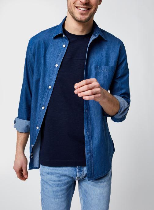Vêtements Accessoires Chemise chambray coupe regular en coton BIO
