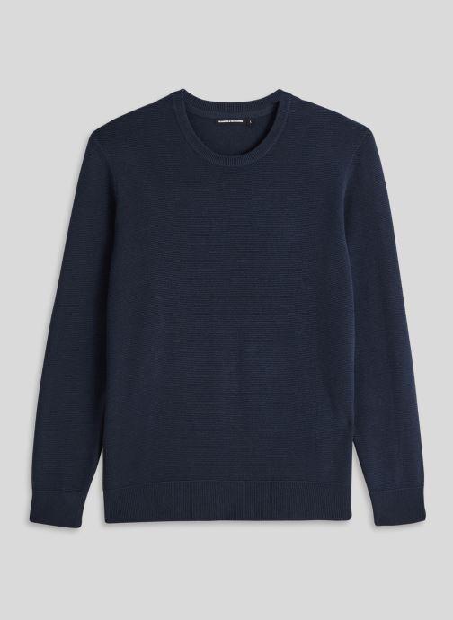 Vêtements Monoprix Homme Pull contenant du coton BIO Bleu vue face