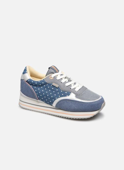 Sneakers MTNG 69990 Blauw detail