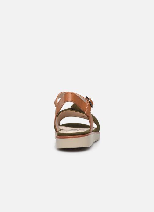 Sandali e scarpe aperte MTNG 50506 Verde immagine destra